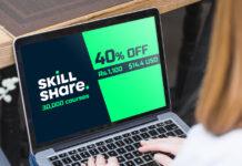 Skillshare Premium 40 percent discount